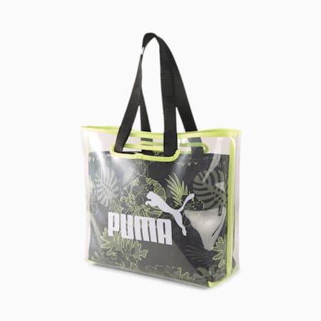 Core Twin Shopper, Puma Black-Sunny Lime-AOP, small