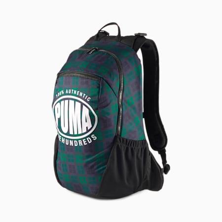 PUMA x THE HUNDREDS Backpack, Juniper-AOP, small