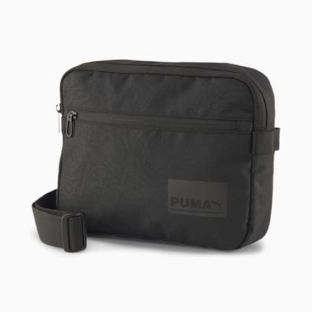 Evolution Street Utility Waist Bag, Puma Black-AOP, small-SEA