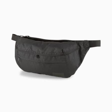 Street Waist Bag, Puma Black-AOP, small