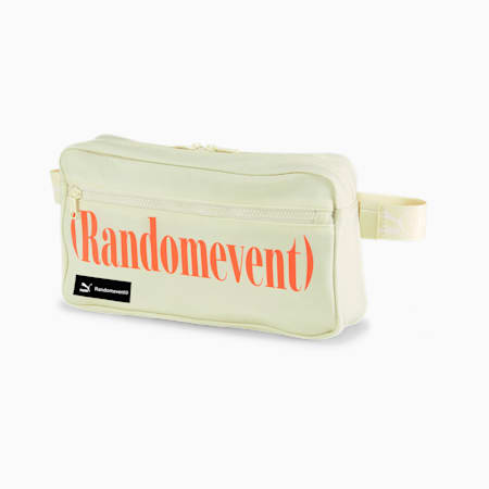 PUMA x RANDOMEVENT Waist Bag, White Asparagus, small