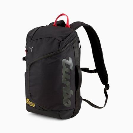 Porsche Legacy Helmet Backpack, Puma Black, small