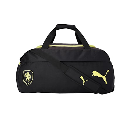 FACR FINAL21 Teambag M, Puma Black-Limepunch, small-IND