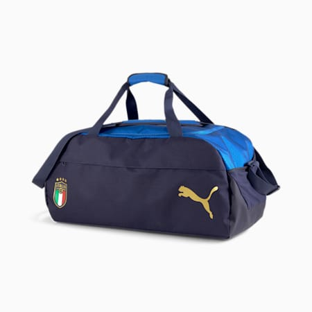 Sac de sport de taille moyenne Italia FINAL, Peacoat-Team Power Blue, small