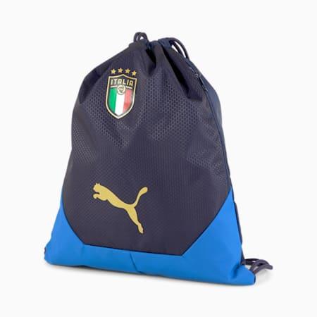 Bolso deportivoFIGCItaliaFinal, Peacoat-Team Power Blue-Puma Team Gold, pequeño