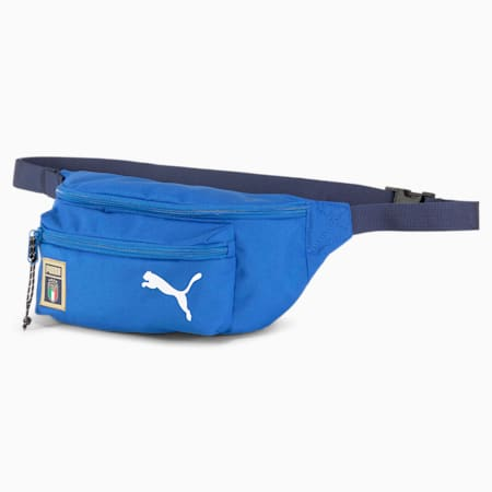 Italia DNA Lifestyle Waist Bag, Team Power Blue-Peacoat, small