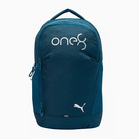 one8 PUMA x VK Hip Women's Backpack, Gibraltar Sea, small-IND