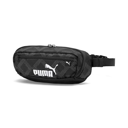 AOP Waist Bag, Puma Black-AOP, small