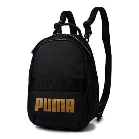 Core Base Mini Women's Backpack, Puma Black, small-SEA