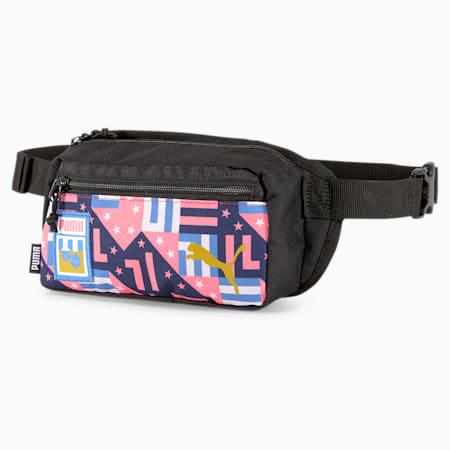 Influence Pack Waist Bag, White-Electric Blue Lemon-NY, small