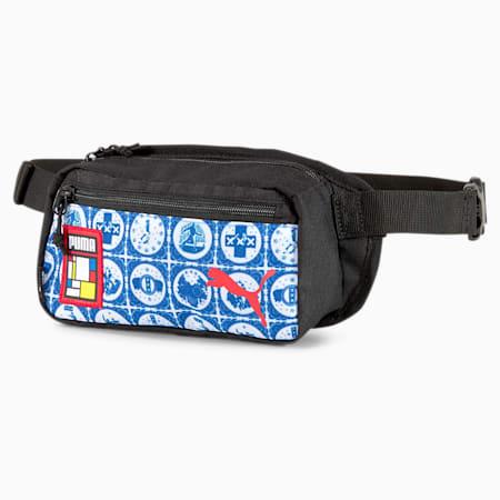 Influence Pack Waist Bag, Puma White-Puma Royal-AMS, small