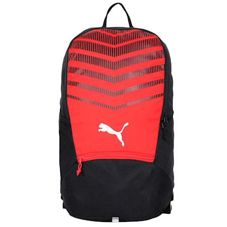 ftblPLAY Backpack, Puma Red-Puma Black, small-IND