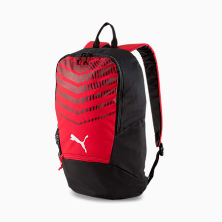 ftblPLAY Backpack, Puma Red-Puma Black, small