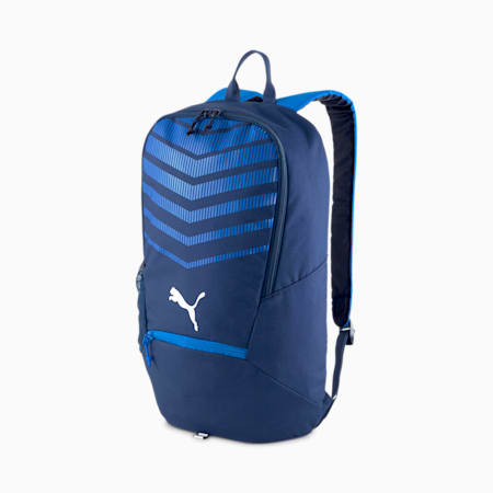 ftblPLAY Backpack, New Navy-Electric Blue Lemon, small