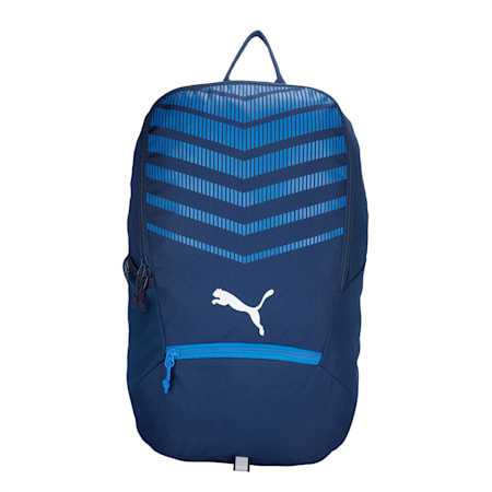 ftblPLAY Backpack, New Navy-Electric Blue Lemon, small-IND