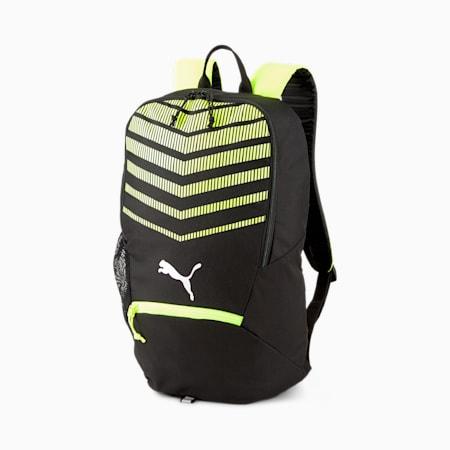 ftblPLAY Backpack, Puma Black-Yellow Alert, small-IND