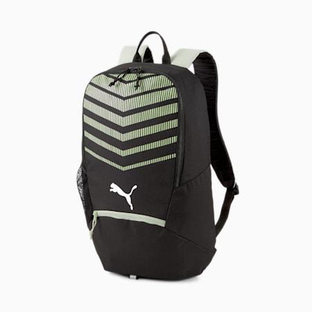 ftblPLAY Backpack, Puma Black-Desert Sage, small-IND