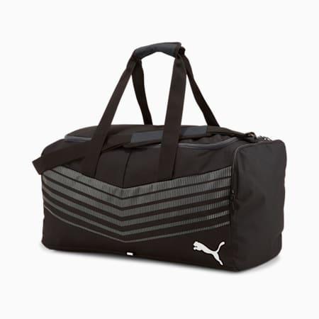 ftblPLAY Medium Sports Bag, Puma Black-Asphalt, small-SEA