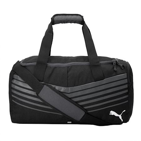 ftblPLAY Small Sports Bag, Puma Black-Asphalt, small-IND