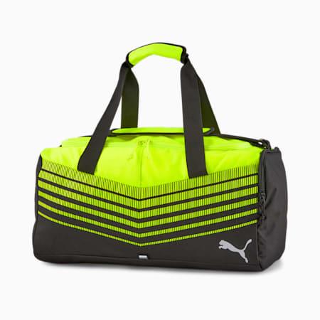ftblPLAY Small Sports Bag, Puma Black-Yellow Alert, small-IND