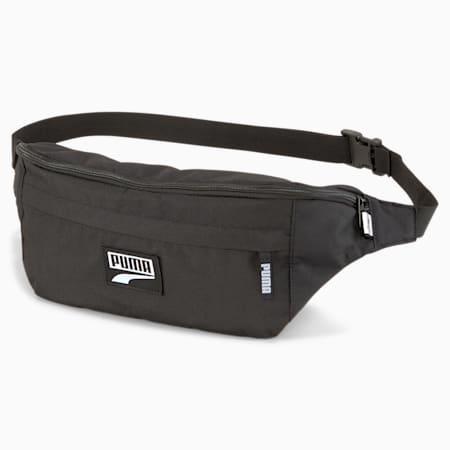 푸마 데크 웨이스트 백 XL/PUMA Deck Waist Bag XL, Puma Black, small-KOR