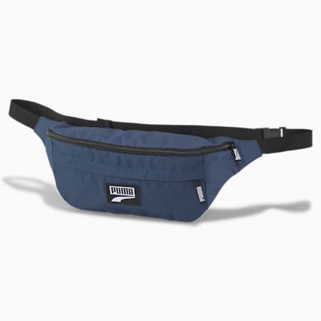 PUMA Deck XL Waist Bag, Dark Denim, small