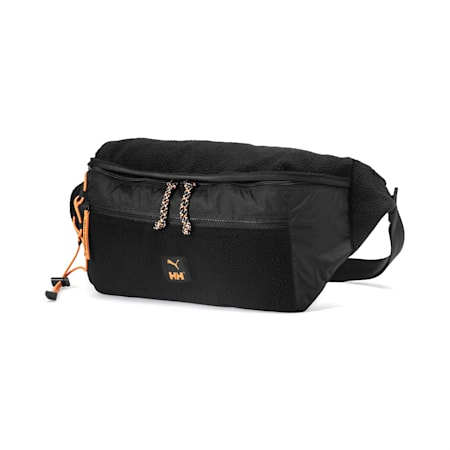 PUMA x HELLY HANSEN Oversized Waist Bag, Puma Black, small-SEA