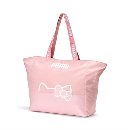 PUMA x HELLO KITTY Large Shopper, Silver Pink, small
