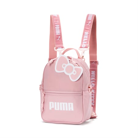 Mini sac à dos PUMA x HELLO KITTY, Rose argenté, petit