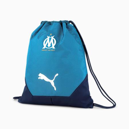 Olympique de Marseille FINAL Football Gym Sack, Peacoat-Bleu Azur, small