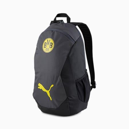 Zaino BVB FINAL Football, Asphalt-Cyber Yellow, small
