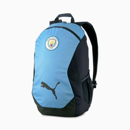 Man City FINAL Fußball Rucksack, Team Light Blue-Peacoat, small