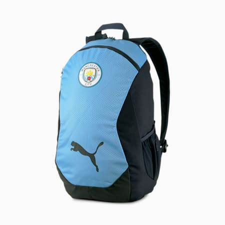 Manchester City FINAL Football Backpack, Team Light Blue-Peacoat, small-IND