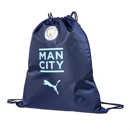 MCFC 맨시티 Final 축구 짐 색/MCFC FINAL Gym sack, Peacoat-Team Light Blue, small-KOR