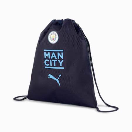 Man City Final Football Gym Sack, Peacoat-Team Light Blue, small-SEA