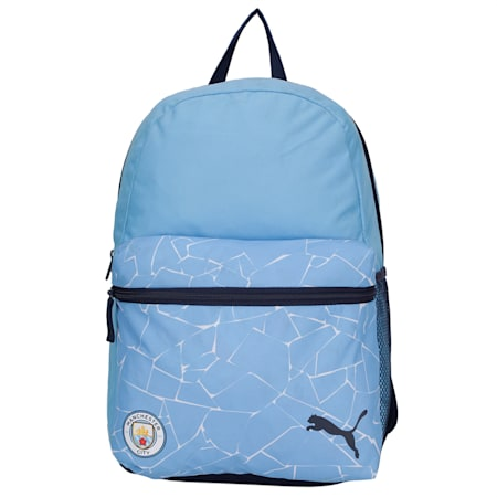 Manchester City ftblCORE Football Backpack, Team Light Blue-Peacoat, small-IND