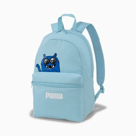 Monster Reflective Tec Kids' Backpack, Aquamarine, small-IND