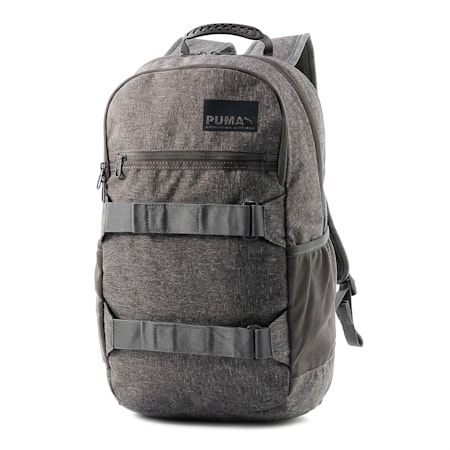 Evolution Street Backpack II, CASTLEROCK-Heather, small-IND