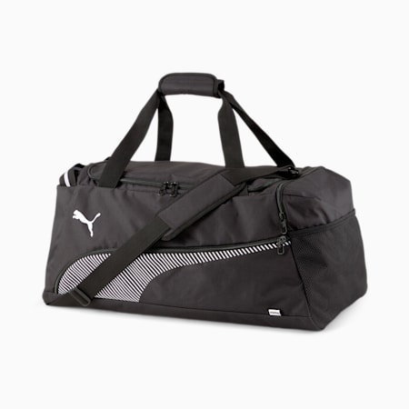 Fundamentals Lifestyle Sports Bag, Puma Black, small