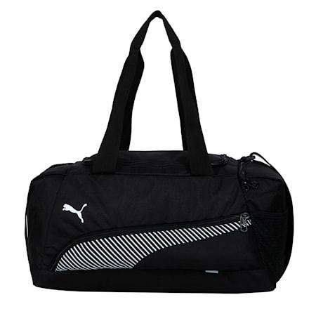 Fundamentals Lifestyle Unisex Sports Bag, Puma Black, small-IND