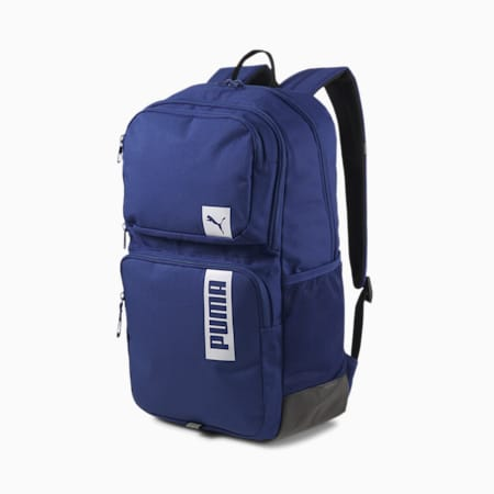 PUMA Deck II Unisex Backpack, Elektro Blue, small-IND