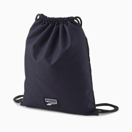 PUMA Deck Gym Sack, Peacoat, small