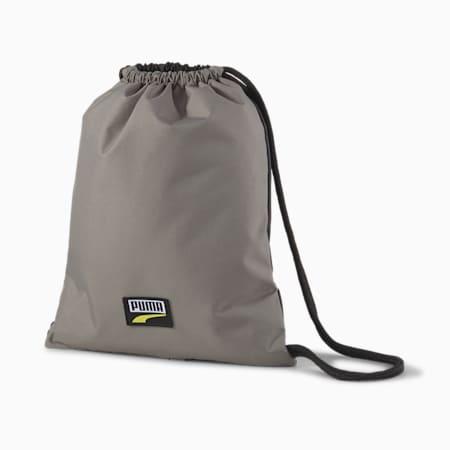 PUMA Deck Gym Sack, Ultra Gray, small