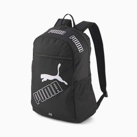 PUMA Phase Backpack II, Puma Black, small-SEA