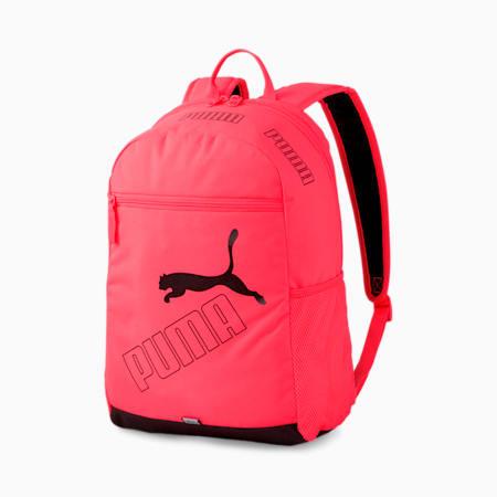 PUMA Phase Backpack II, Ignite Pink, small-SEA