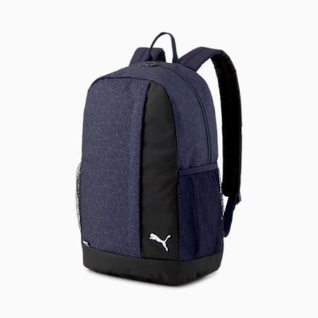 Beta Backpack, Peacoat-AOP, small-SEA