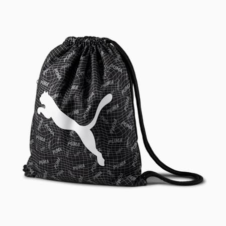 Beta Gym Sack, Puma Black-Quarry, small-SEA