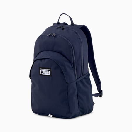 PUMA Academy Unisex Backpack, Peacoat, small-IND