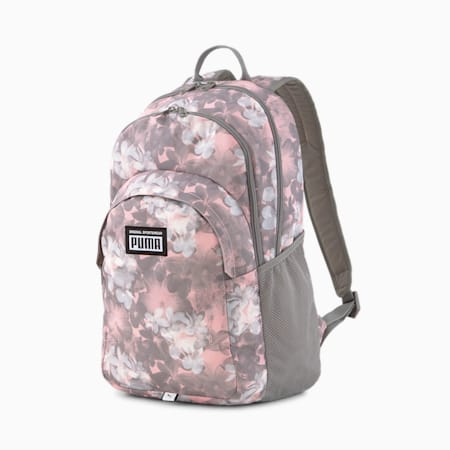 PUMA Academy Backpack, Bridal Rose-Floral AOP, small