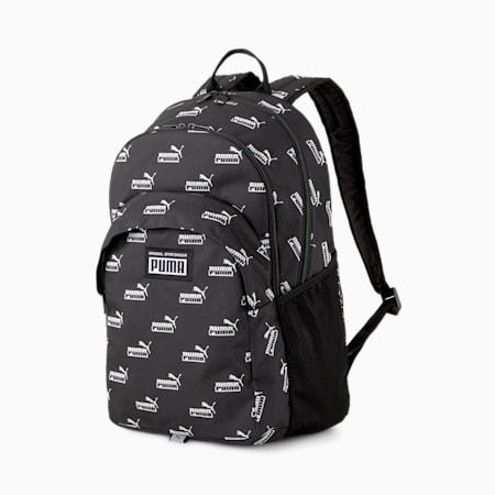 Academy Backpack, Puma Black-PUMA No. 1 AOP, small-SEA